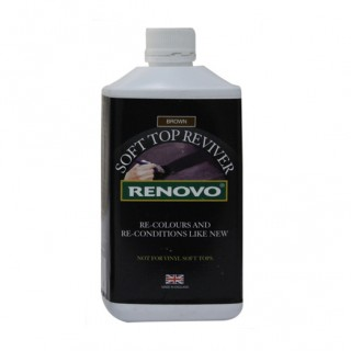 Renovo Soft Top Reviver - Brun 1L