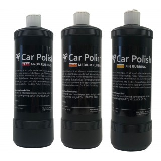 Car Polish Paket Polermedel