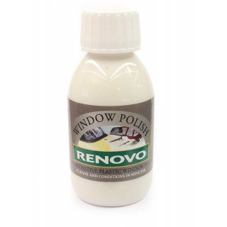 Renovo Plastic Window Polish / Scratch remover  100ml